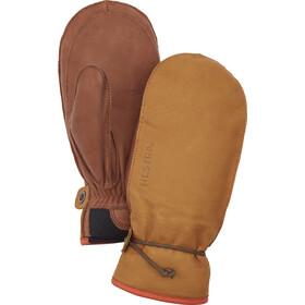 Hestra Wakayama Moufles, cork/brown